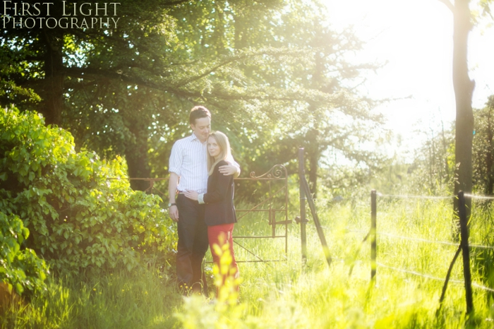 Laura & Stephen engagement photographs, Lauriston Castle Edinburgh