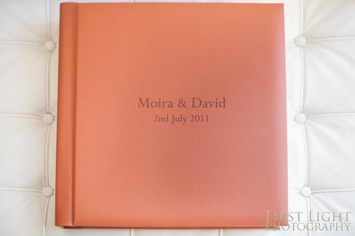 Classic Mounted Wedding Album – Moira & David