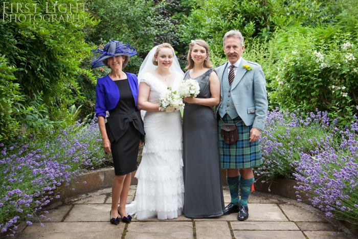 Edinburgh wedding photography by First Light Photography