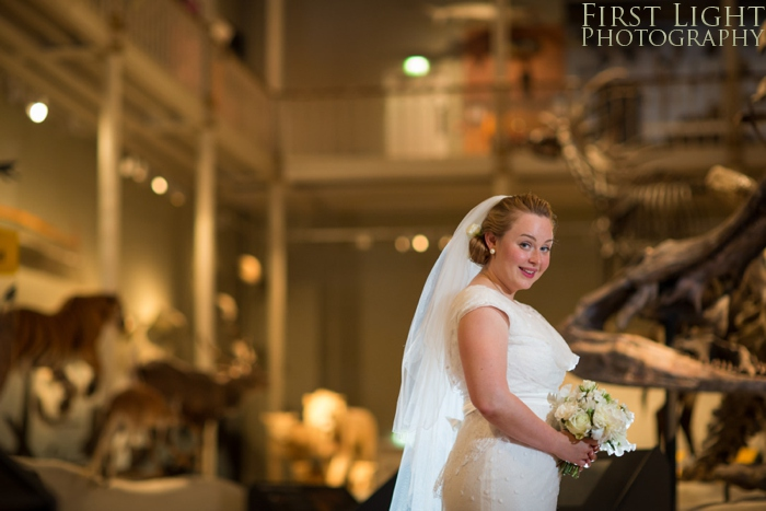 National Museum of Scotland wedding photography by First Light Photography