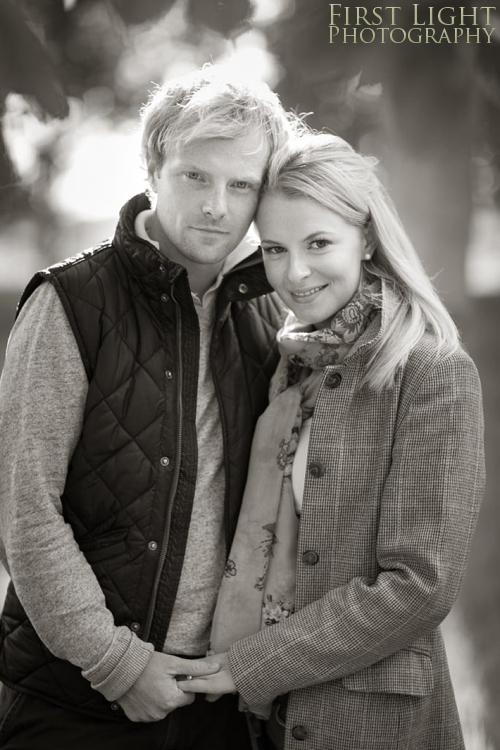 Rona & Craig's engagement photo shoot, East Lothian