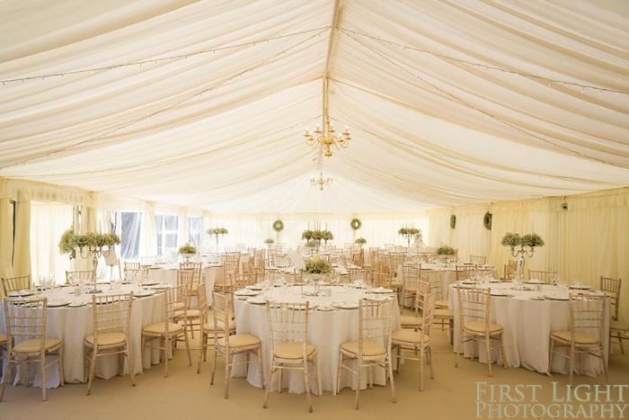 Marquee, Gilmerton House wedding photography