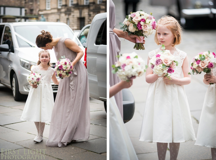 Wedding photography at Signet Library , Edinburgh by First Light photography, Scotland, flowergirls, bridemaids, wedding flowers, wedding, Edinburgh wedding photographer