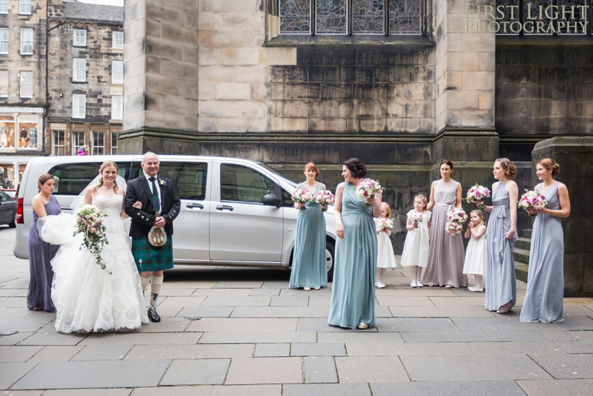 Wedding photography at Signet Library , Edinburgh by First Light photography, Scotland, Wedding dress, bride, bridemaids, flowergirls, Edinburgh wedding photographer.