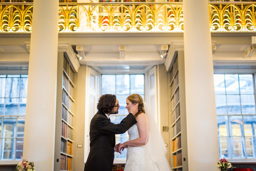 Wedding photography at Signet Library , Edinburgh by First Light photography, Scotland