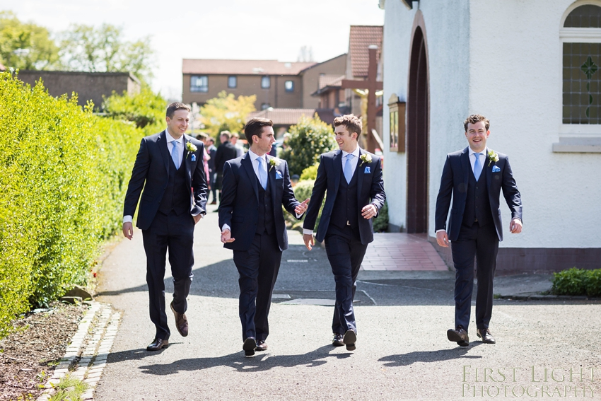 The wedding of Kate & Finar at Edinburgh Botanical Gardens. Photographed by First Light Photography