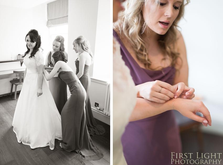 bridesmaids, wedding details, Dundas Castle wedding photography. Edinburgh wedding photography by First Light Photography