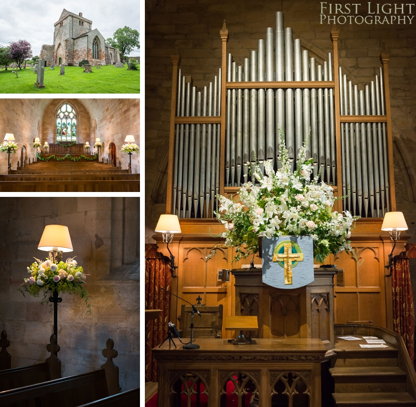 Chrichton Church wedding