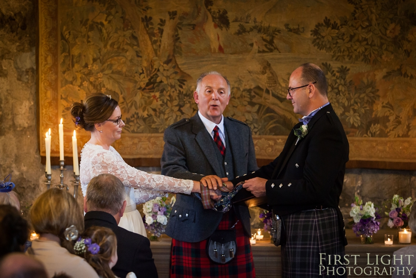 Humanist wedding, Dundas Castle. Photographed by First Light Photography