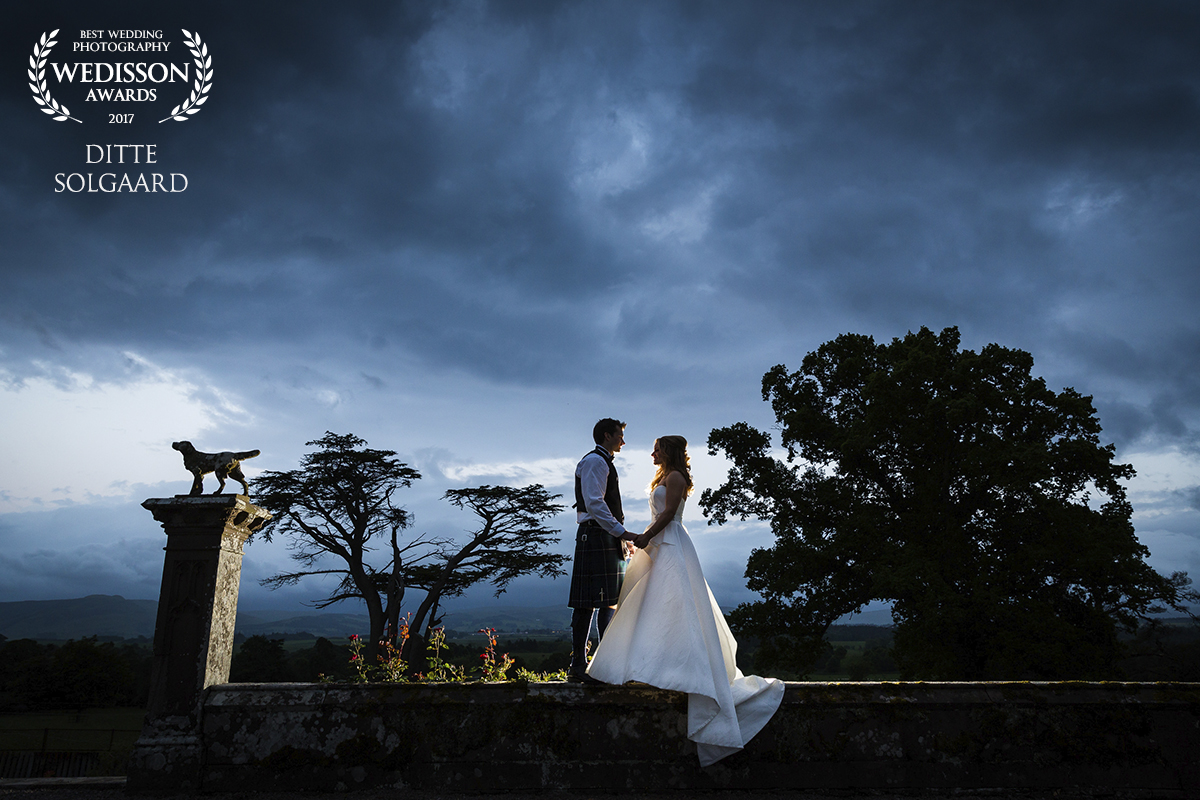 Award-winning wedding photograph