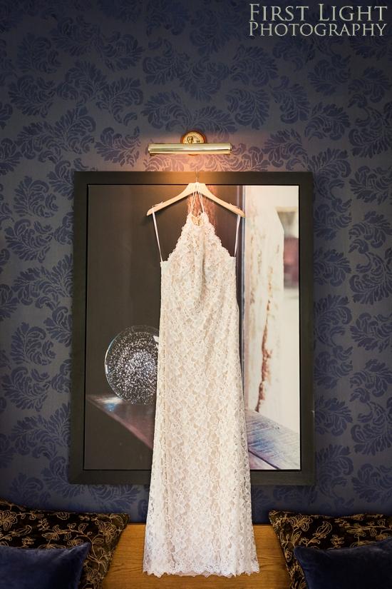 Wedding dress, wedding photographer Scotland