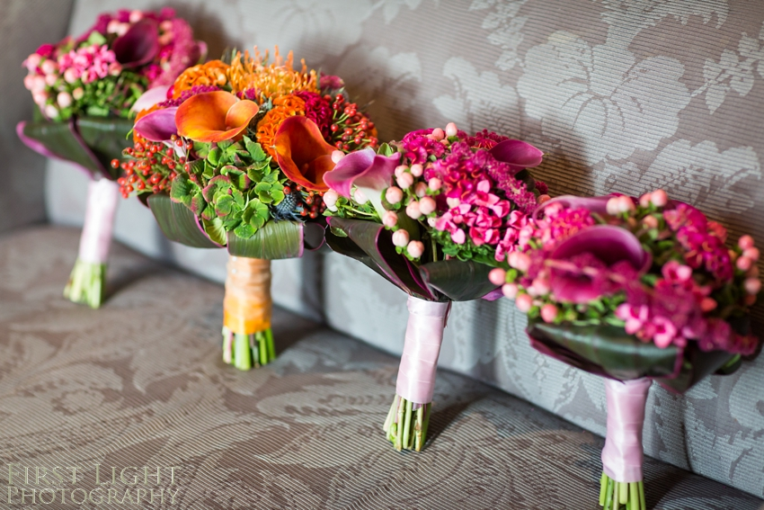 autumnal bouquet, wedding photographer Scotland