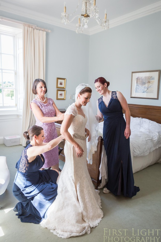 bridesmaid, wedding dress, wedding details, Gilmerton House, Wedding Photographer, Edinburgh Wedding Photographer, Edinburgh, Scotland, Copyright: First Light Photography