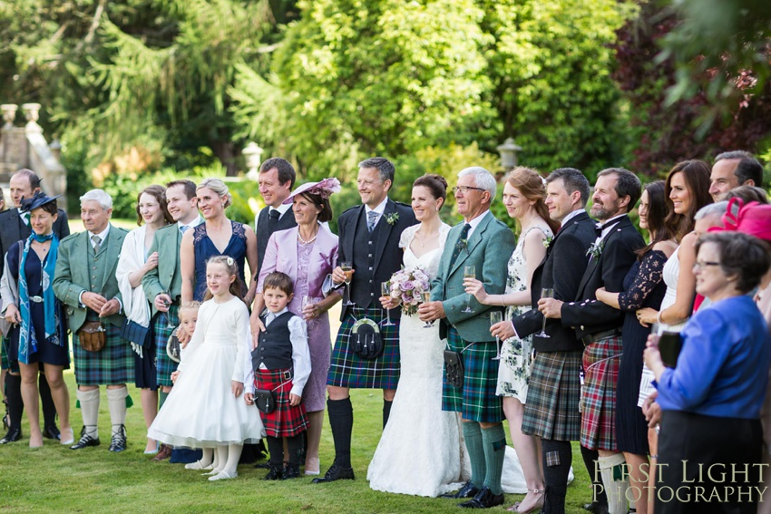 Wedding photo, Gilmerton House, Wedding Photographer, Edinburgh Wedding Photographer, Edinburgh, Scotland, Copyright: First Light Photography