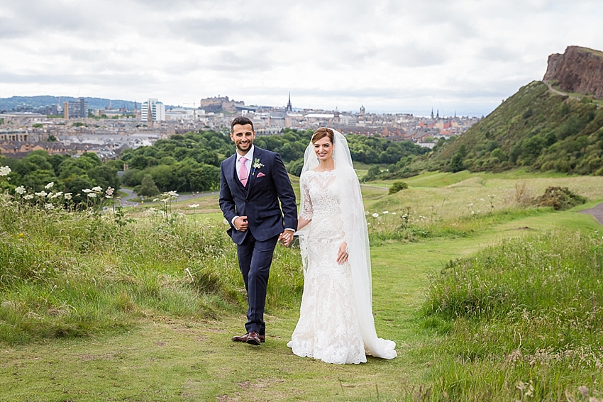 Arthurs Seat Wedding, Edinburgh, Edinburgh Wedding Photographer, Scotland. Copyright: First Light Photography