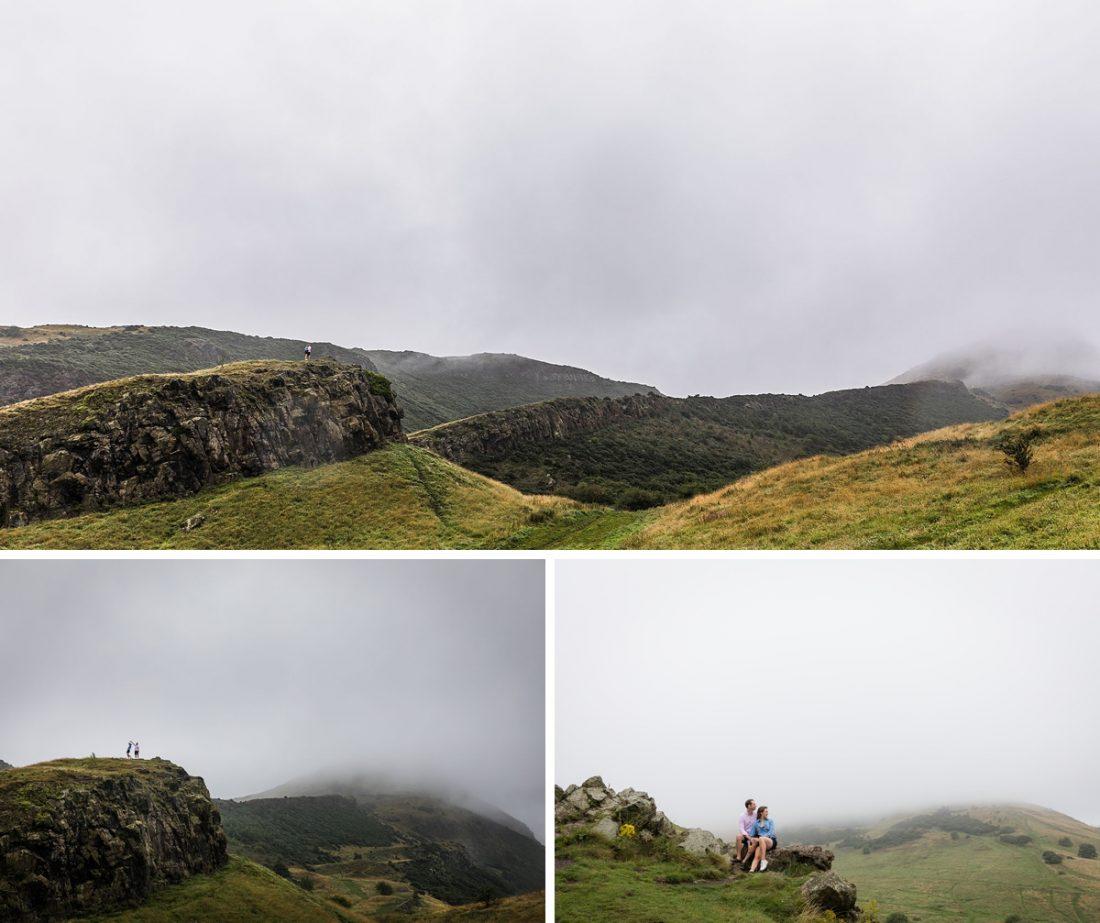 Arthurs Seat in the mist