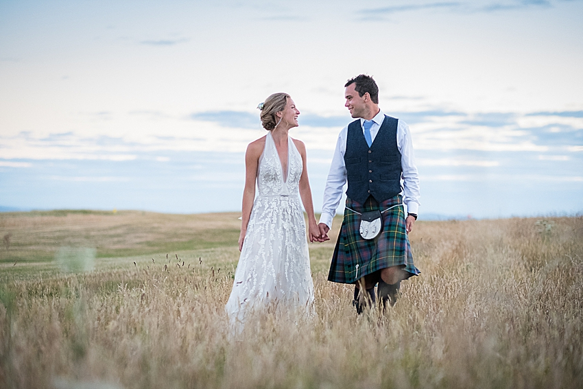 Elie Summer Wedding- Elizabeth and Gregor