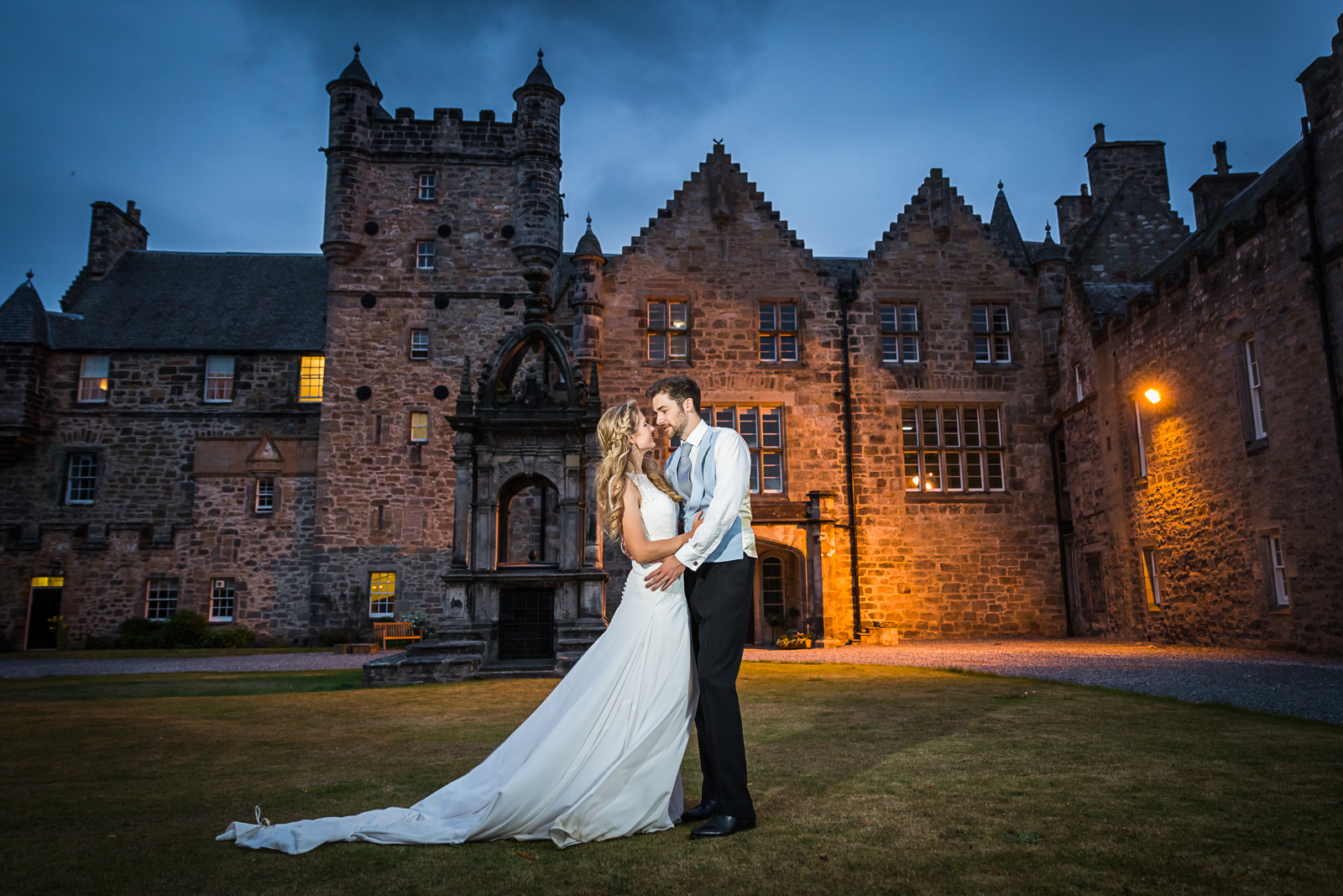 Loretto School Summer Wedding Photography – Eila and Tom