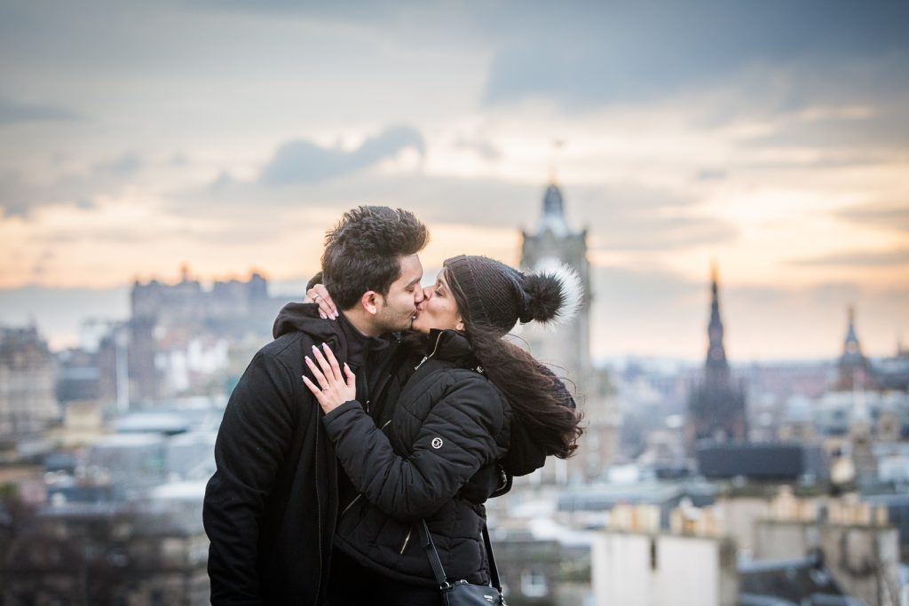 Edinburgh Proposal Shoots, Edinburgh Proposal and Wedding Photography, Calton Hill wedding proposal Scotland