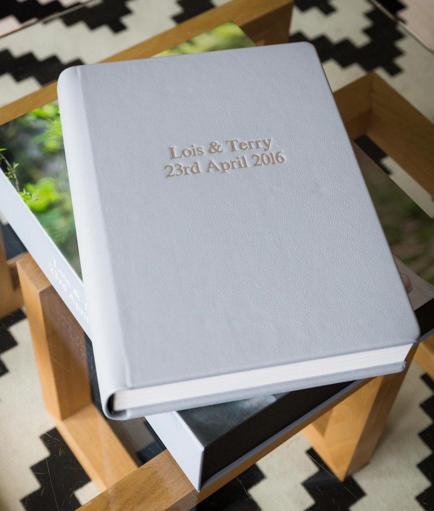 First Light luxury wedding album