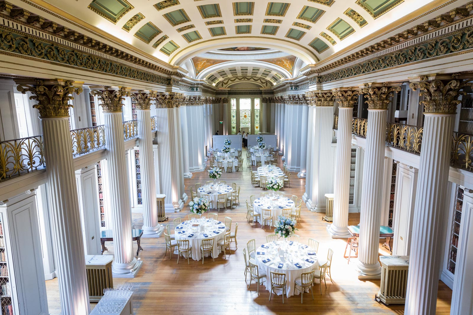 Edinburgh Wedding Venues- The Signet Library
